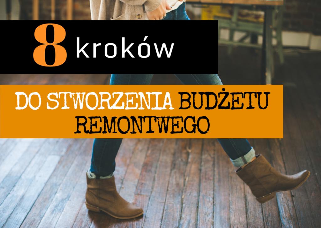 Damskie nogi w kozakach idą po drewnianej podłodze kup sobie chatę blog 8 kroków do stworzenia budżetu domowego