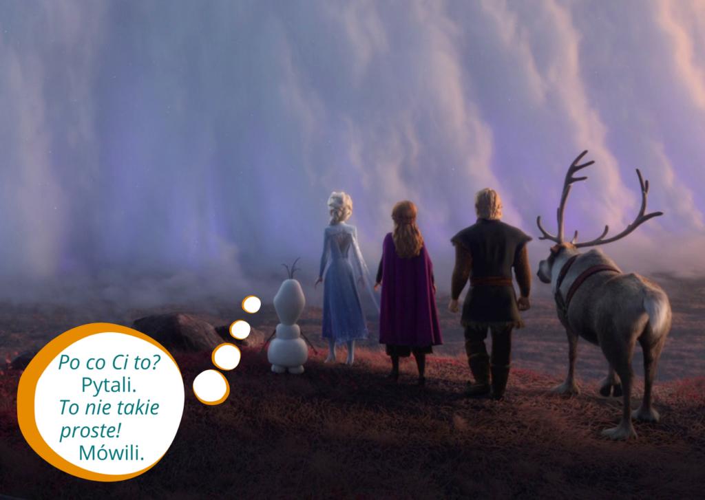 kup sobie chate blog pozwolenie na budowe domu zgloszenie kraina lodu bohaterowie stoja przed sciana z mgly