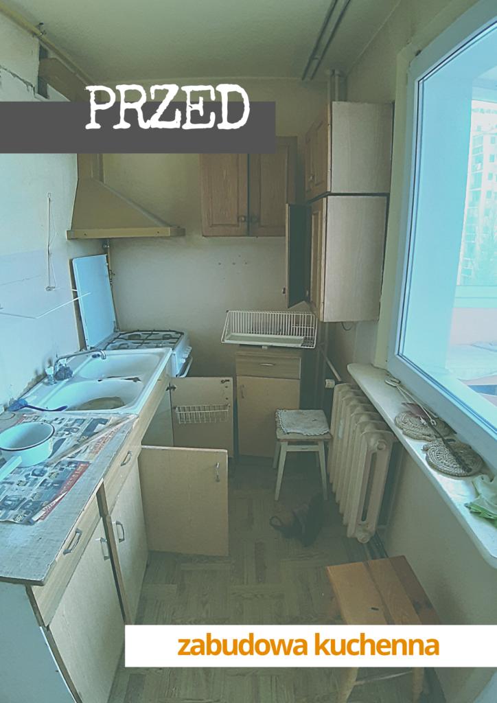 kup sobie chate remont mieszkania w bloku wielka plyta kuchnia metamorfoza przed 1
